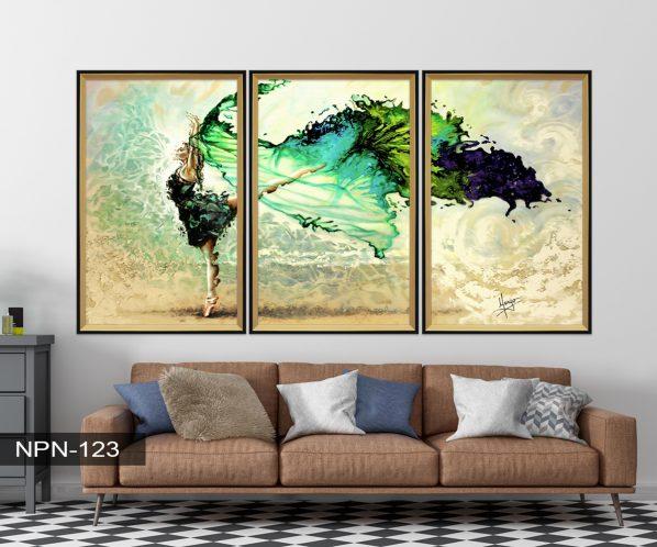 Tranh canvas treo tường múa ba lê